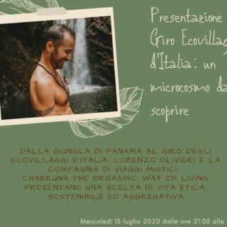 """I mercoledì del Villa Claudia, """"Ecovillaggio un microcosmo sostenibile"""" di Lorenzo Olivieri"""